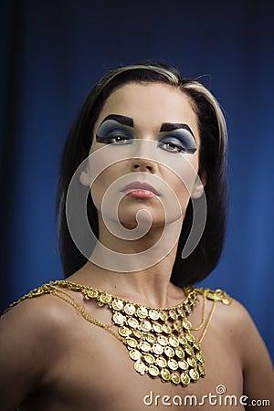 Alte ägyptische Frau