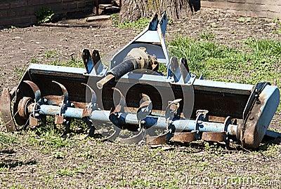 Alte landwirtschaftliche Ausrüstung