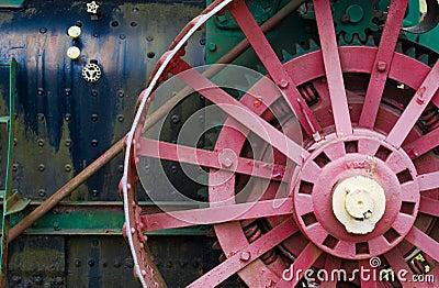 Alte landwirtschaftliche Maschinen