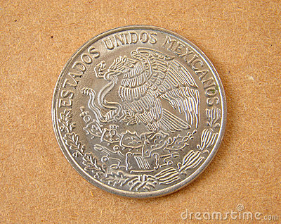 Alte Mexiko-Münze