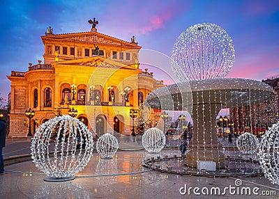 Alte Oper in Frankfurt
