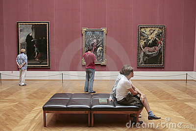 Alte Pinakothek museum Munich Editorial Stock Photo