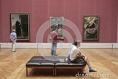 Alte Pinakothek museum Munich Editorial Stock Photo
