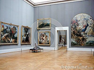 Alte Pinakothek museum Munich Editorial Photo