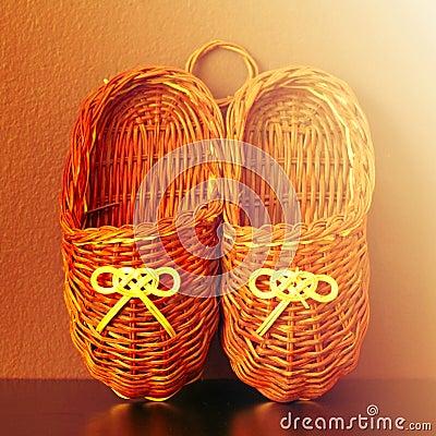Alte russische Schuhe