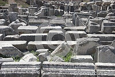 Alte Stadt von Ephesus. Türkei