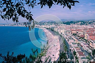Alte Stadt von Nizza, Frankreich