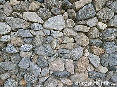 Alte Weinlese-Steinwand