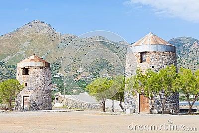 Alte Windmühlen von Elounda