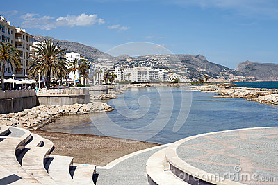 Altea, Spain Royalty Free Stock Image - Image: 24773656