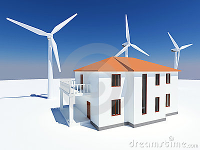 Alternative Energy House