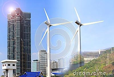 Alternative energy sources  windmills