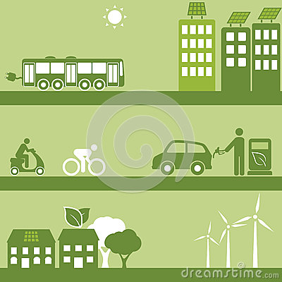 Alternative fuel and solar buildings
