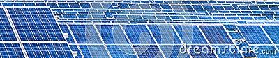 Alternative Solar Energy. Solar power plant.