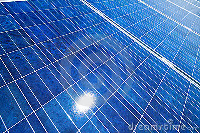 Alternative Solar Energy. Solar Power Plant. Stock Photo - Image ...