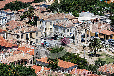 Altes Agora Athen Griechenland