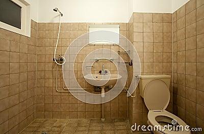altes badezimmer stockfoto bild 18669050. Black Bedroom Furniture Sets. Home Design Ideas