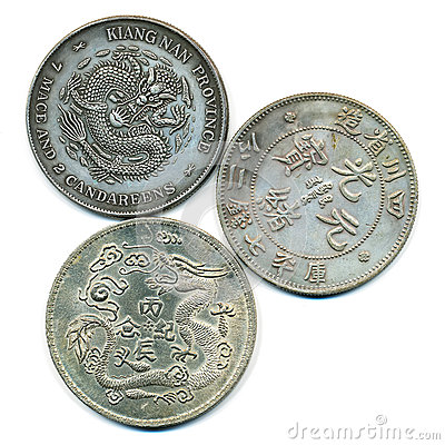 Altes chinesisches Silber