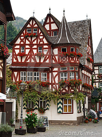 Altes Haus (Old House), in Bacharach, Germany