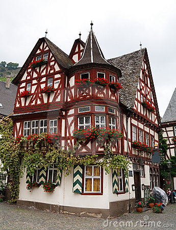 Free Altes Haus (Old House), In Bacharach, Germany Royalty Free Stock Image - 11895826