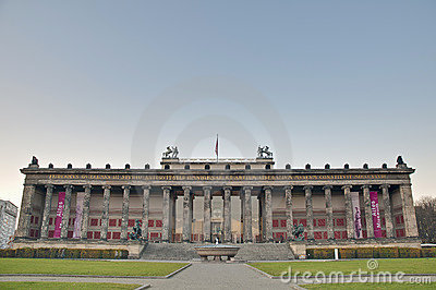 Altes Museum (Old Museum) at Berlin, Germany