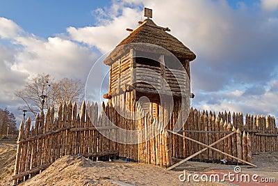 Altes polnisches Dorf