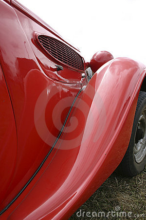 Altes Rot Car2 Stockbild - Bild: 2845621