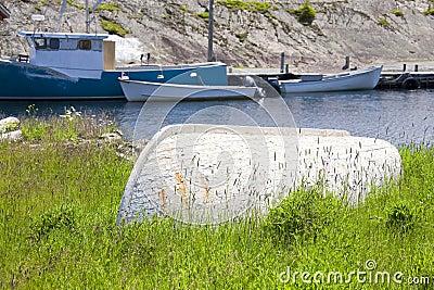 Altes Ruderboot