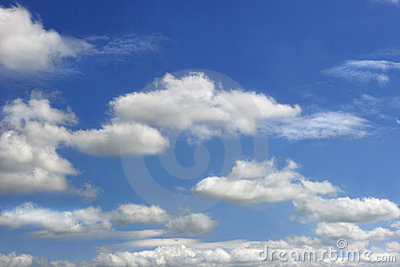 Altocumulus chmury