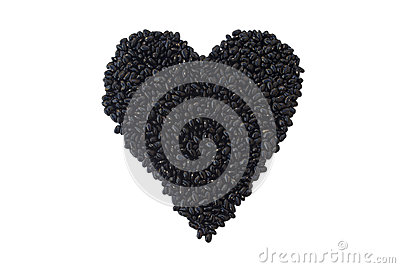 Alubias negras: Alimento sano del corazón