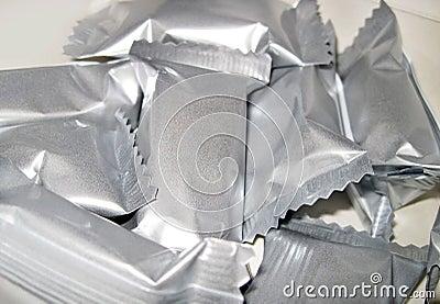 Aluminium foil wrappers