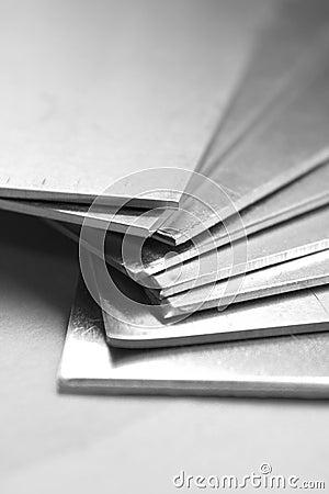 Free Aluminium Plates Royalty Free Stock Photo - 503615