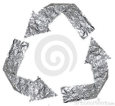 Aluminium Recycle Symbol