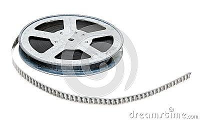 Aluminium reel of film