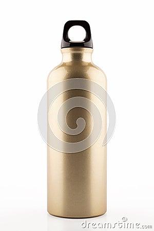 Free Aluminum Bottle Water Royalty Free Stock Photo - 65709675