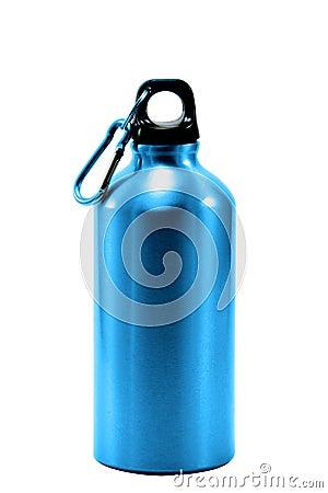 Free Aluminum Bottle Water Isolated White Background Royalty Free Stock Photos - 59517678