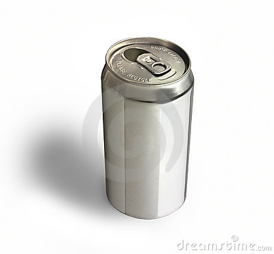 Free Aluminum Can Royalty Free Stock Image - 3501716