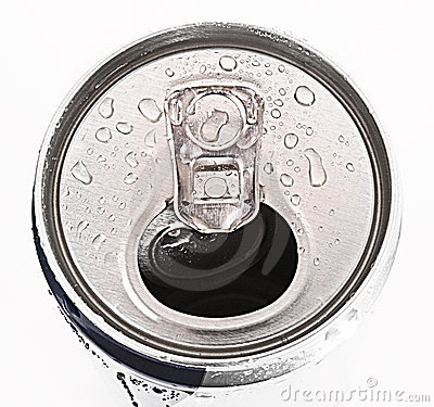 Free Aluminum Can Closeup With Water Drops Stock Photo - 16199180