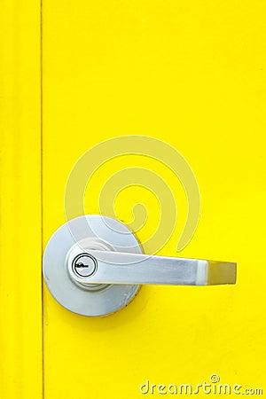Aluminum door knob