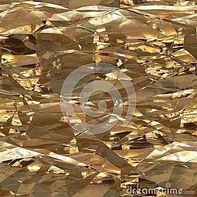 Aluminum foil tiled possible