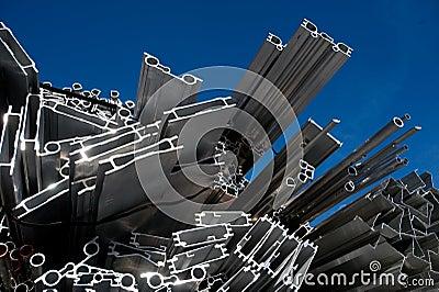 Aluminum scrap for recycling