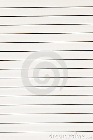 Vertical lined paper