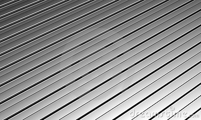 Aluminum silver long strip pattern background