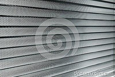 Aluminum sun blinds