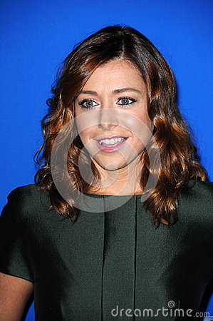 Alyson Hannigan Editorial Stock Image
