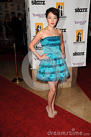 Alyssa Lobit at the 13th Annual Hollywood Awards Gala. Beverly Hills Hotel, Beverly Hills, CA. 10-26-09 Editorial Stock Image