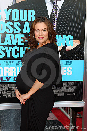 Alyssa Milano Editorial Photo