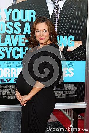 Alyssa Milano Editorial Photo
