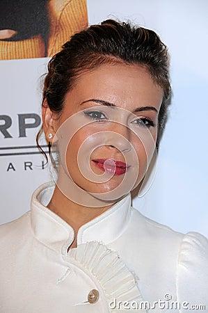 Alyssa Milano Editorial Stock Photo