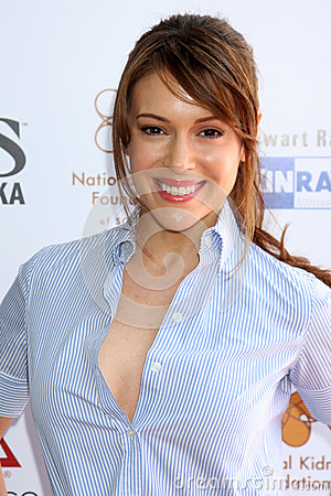 Alyssa Milano Editorial Stock Image